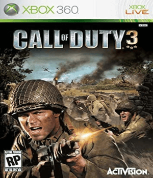 Videojuego Call of Duty 3 Xbox 360