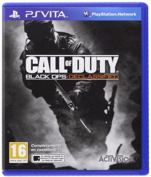Videojuego Call of Duty Black Ops Declassified PSP Vita