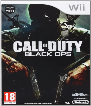 Videojuego Call of Duty Black Ops Wii