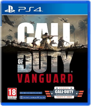 Videojuego Call of Duty Vanguard Playstation 4