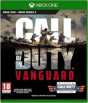 Videojuego Call of Duty Vanguard Xbox One