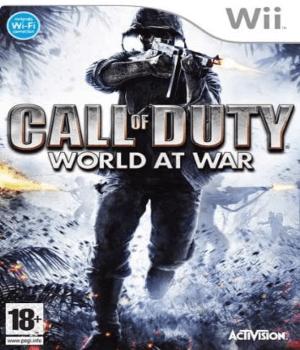 Videojuego Call of Duty World at War Wii