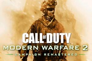 Videojuego remasterizado Call of Duty Modern Warfare 2