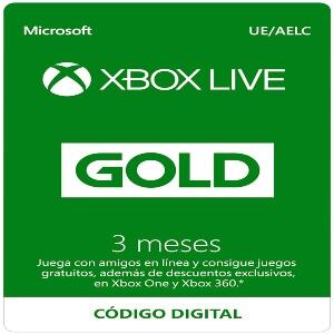 Xbox Live Gold de 3 meses para jugar al Call of Duty