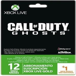 Xbox Live Gold jugar Call of Duty