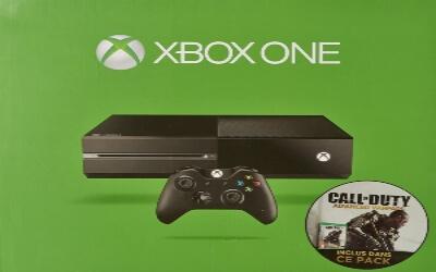 Xbox One con juegos de Call of Duty
