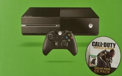 Xbox One con mando y videojuego Call of Duty