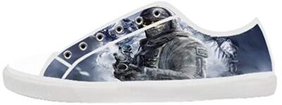 Zapatillas de un soldado de Call of Duty